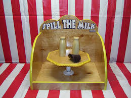 Wooden Carnival Games Spill the Milk Carnival Game Church Carnival games Pinterest 3
