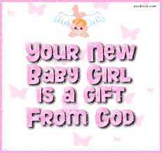New Baby Girl Congratulations Quote Quote Number 602485 Picture