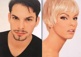 makeup image look like man transforms into his favourite celebrities using from the incredibly talented kevyn aucoin book he is summoning linda
