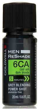 Goldwell Reshade Color Chart Goldwell Men Reshade Grey Blending Power Shot