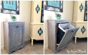 diy laundry cabinets trash cabinet for laundry room making laundry cabinets