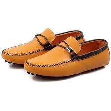 <b>british style men's</b> boat moccasin <b>leather</b> shoes driving loafer ...