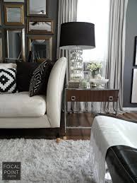Styling Living Room Focal Point Styling Thrifted Chic Black White Living Room