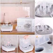 Máy tiệt trùng , sấy khô và hâm sữa MOAZ BÉBÉ MB - 005 ( 3 in 1) – Gia Phú  Baby