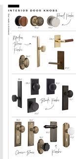 door handles and knobs. Statement Interior And Exterior Door Knobs - Room For Tuesday Blog Handles