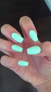 Nail Designs With Mint Color