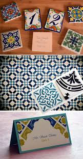 blog letter impressed tile tables table numbers and spanish