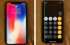 Several iPhone X Owners Encountering Green Line on Display Due to