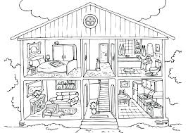 Little House Coloring Pages Q2689 Little House On The Prairie
