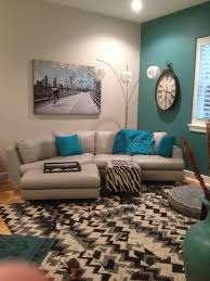 Turquoise Accent Wall. Salon Pinterest
