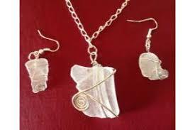 sea gl wire wrap jewelry