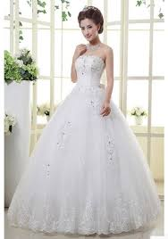 ball dresses online. newest ball gown floor-length luxury wedding dresses with sashes (wd0069) online i
