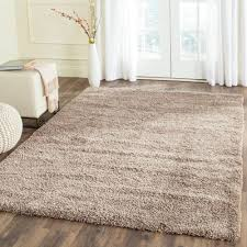 safavieh california shag taupe 4 ft x 6 ft area rug sg151 california shag black 4 ft