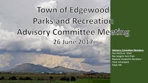 Town of Edgewood Parks & Recreation Advisory Committee