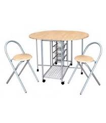 Ensemble table pliante + 2 chaises marseille - TIDY HOME
