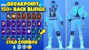 In this video i showcase the best summer 2020 updated combos for the elite agent skin! New Breakpoint Skin Showcased With 150 Back Blings Fortnite Br Best Breakpoint Skin Combos Cute766