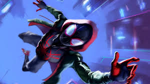 We hope you enjoy our growing collection of hd images to use as a background or home screen for your smartphone or 1920x1080 miles morales spider man into the spider verse wallpaper>. 5100048 Spider Gwen Artwork 4k Spider Man Into The Spider Verse Miles Morales