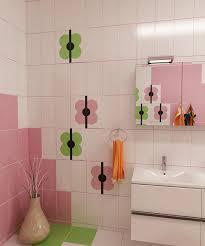 Bilder 3d Interieur Badezimmer Grün Rosa Ral Fete 6