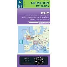 Vfr Chart Italy And Switzerland Air Million 2019