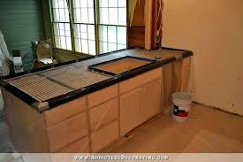 how to make concrete countertops building concrete concrete countertops kitchener waterloo