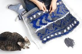 latch hook rug patterns making tutorial steve sroofing