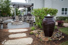 landscape ideas small space water