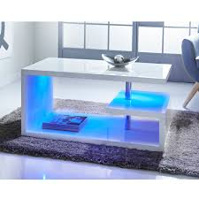315366 alaska high gloss coffee table white