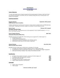 Head Basketball Coach Cover Letter Coaching Cover Letter Onlyhealth