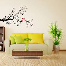 office walls design. Art Mural Wall Sticker Home Office Bedroom Decor Vinyl Stickers Decal Love Heart Tree Bird Walls Design
