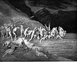 dante s inferno canto the doomed souls embarking to cross the  dante s inferno canto 3 the doomed souls embarking to cross the acheron