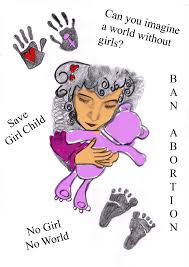 Voice Against Female Foeticide Poster Designing Competition