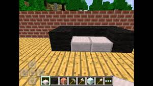how to make a couch in minecraft. Plain Make How To Make A Couch On Minecraft Pocket Edition For In C