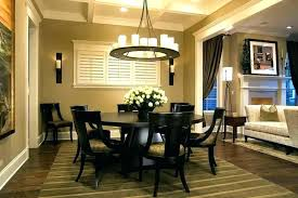 round dining table area rug rugs ideas room under kitchen with furniture marvellous image of formal