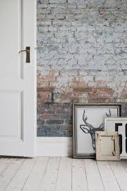 White Exposed Brick Wall Best 25 Brick Effect Wallpaper Ideas On Pinterest White Wall