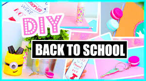 diy back to school ideas supplies paper towns minions more
