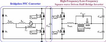 two stage electronic hid lamp ballast (a bridgeless pfc 3 Lamps Ballast Wiring Diagram Series fig 3 two stage electronic hid lamp ballast (a bridgeless pfc converter T8 Electronic Ballast Wiring Diagram