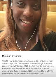 HOT 105 - Family, have you seen Shanaria Sims? We've been... | Facebook