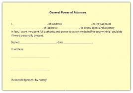 blank power of attorney best durable power attorney template financial power attorney form