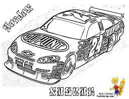 Full Force Race Car Coloring Pages Free Nascar Cars Coloring Pages