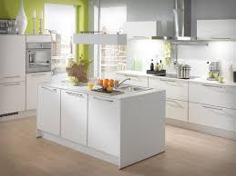 kitchen modern white kitchens curved brown countertop cherry wood kitchen cabinet small island breakfast bar