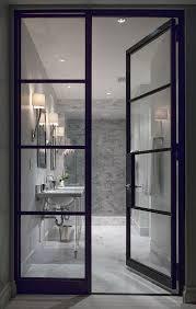 Glass For Bathroom 17 Best Ideas About Bathroom Doors On Pinterest Sliding Bathroom