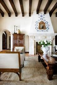 spanish style furniture. Elegant Interior Decoration In The Spanish Style. Wide Bench Is Upholstered With Pleasant To Style Furniture