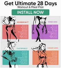 full body workout for women at home to
