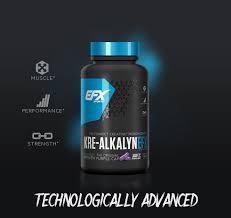 efx sports kre alkalyn efx muscle performance strength