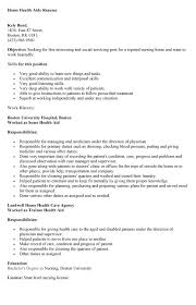 Ideas Collection Sample Health Care Aide Resume With Layout