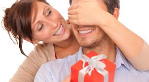 Image result for couple receiving gift