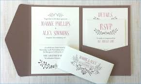 Foldable Invitation Template Diy Pocket Invitations Pocketfold Wedding Tutorial Invitation