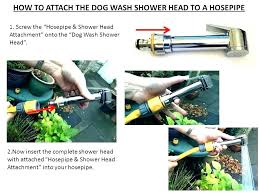 dog shower hose attachment dog shower hose attachment grooming ring attach the bath bathtub for washing