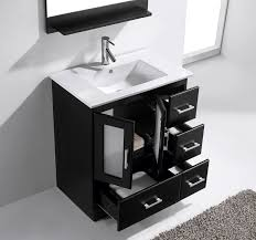 Bathroom vanities 30 inch Left Side Impressive Avola 30 Inch Modern Single Sink Bathroom Vanity For Stylish Residence Bathroom Vanities 30 Inch Wide Remodel Michalchovaneccom Impressive Avola 30 Inch Modern Single Sink Bathroom Vanity For