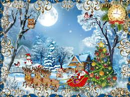 Christmas Card Images Free Christmas Cards Free Christmas Screensaver Fullscreensavers Com